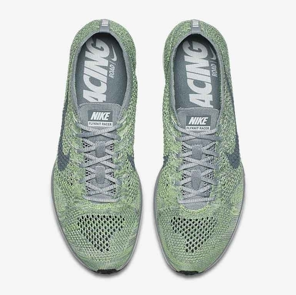 finest selection fe5ab 36d47 ... usa request nike flyknit racer macaroon sneakers grabr p2p global  delivery 48d80 04421