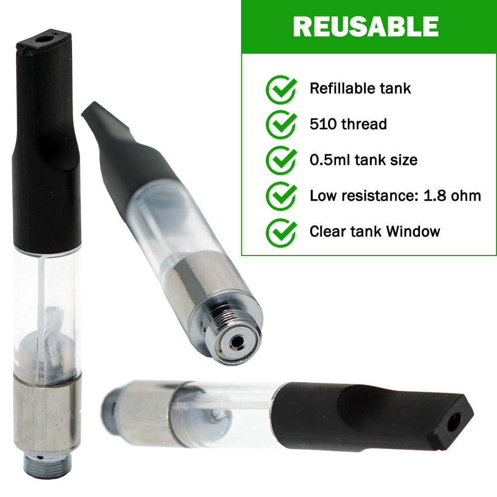 Request LeakProof  5mL 50 Pack Vape Tank Bud Touch 510