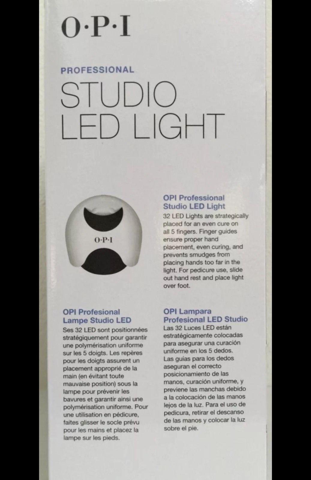 Request Authentic Opi Studio Led Light 110v Gl900 Professional Gel