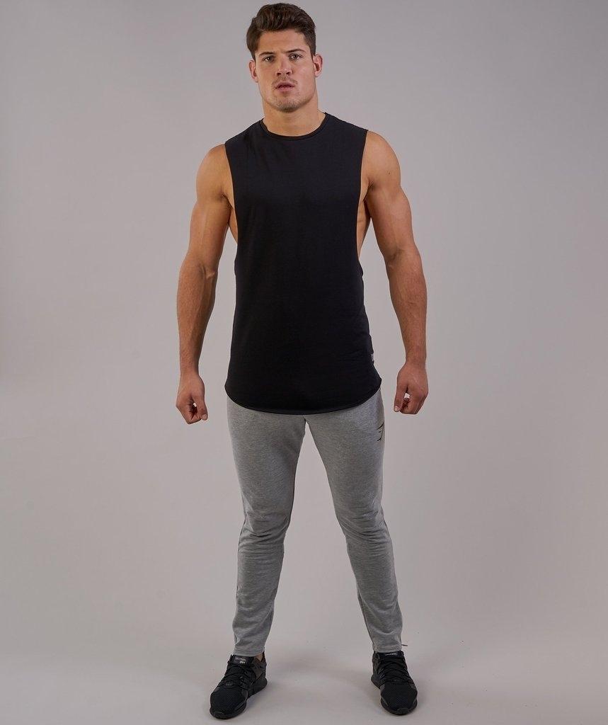 d4030d8c Request Gymshark Eaze Sleeveless T-Shirt - Black | Gymshark | Grabr ...