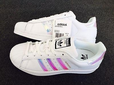 adidas superstar iridescent size 4