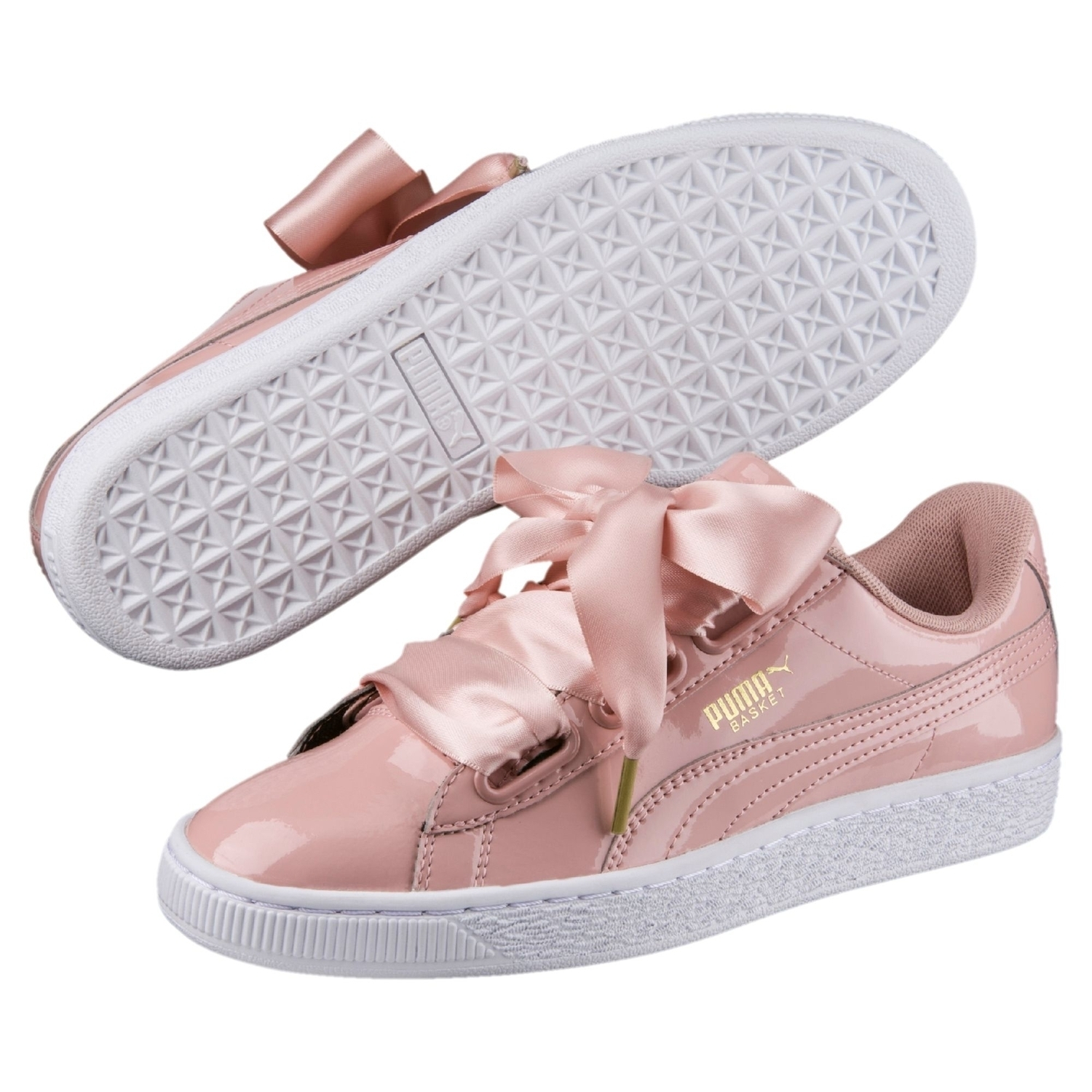 brand new 4625c ba5d9 Request BASKET HEART PATENT WOMEN'S SNEAKERS | Grabr P2P ...