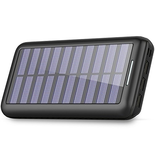 Request Solar Charger 24000mah Portable Charger Plochy Solar Power Bank Phone Grabr P2p Global Delivery